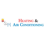 B & M Heating & Air Conditioning logo