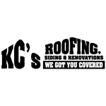 KC's Roofing Siding & Renovations logo