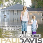 Paul Davis (North Bay) logo