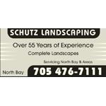 Schutz Landscaping logo