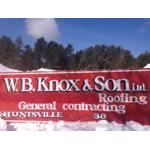 W B Knox & Son Roofing logo