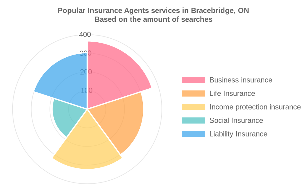 Popular services provided by insurance agents in Bracebridge, ON