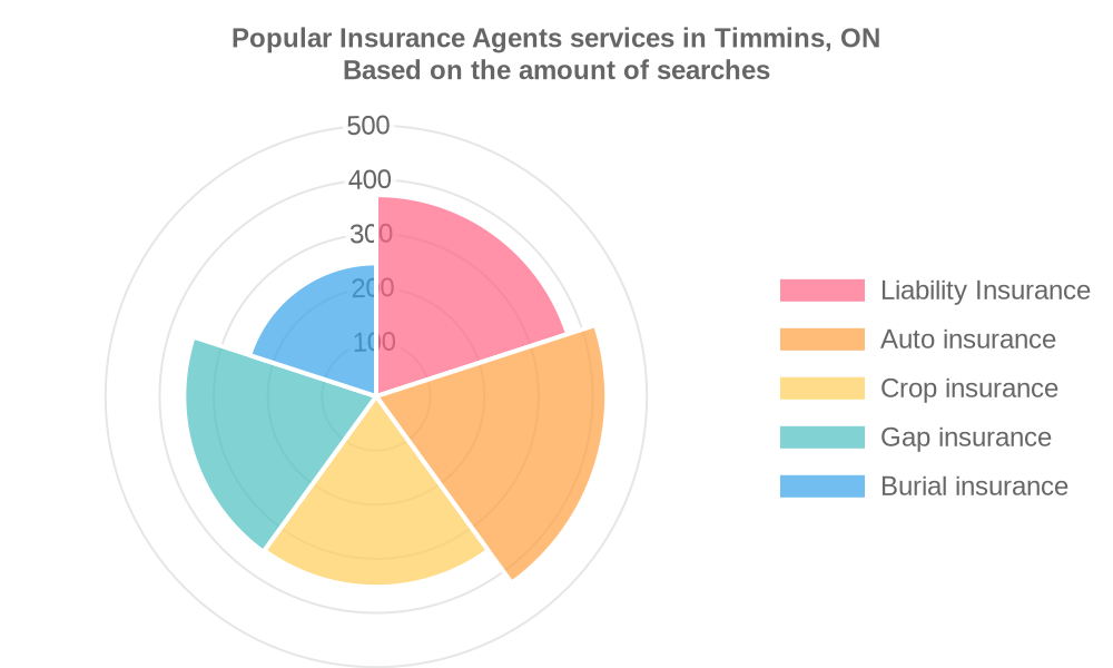 Popular services provided by insurance agents in Timmins, ON