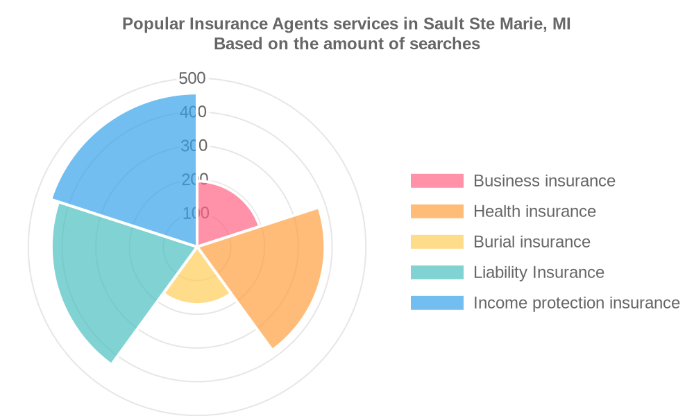 Popular services provided by insurance agents in Sault Ste Marie, MI