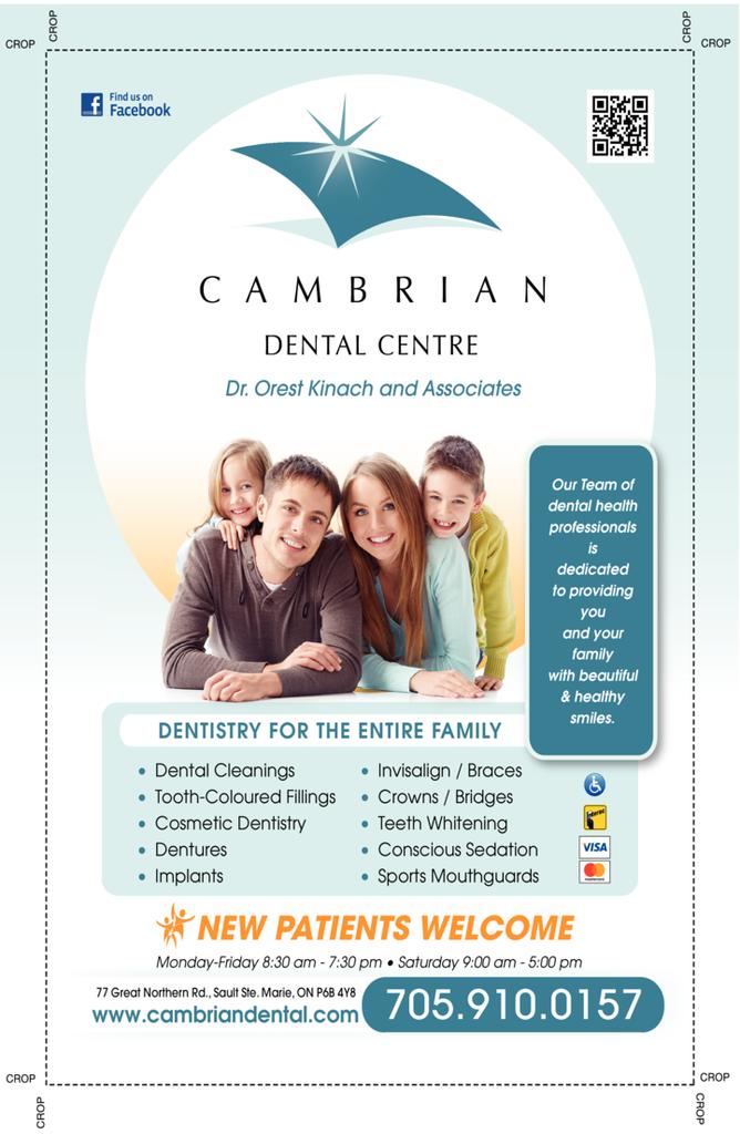 Print Ad of Cambrian Dental Centre