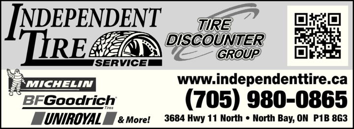 Print Ad of Independent Tire Service