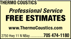 Print Ad of Thermo Coustics