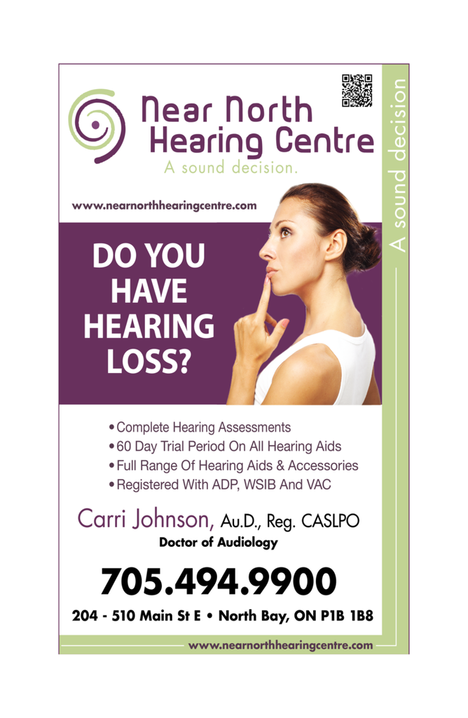 Print Ad of Near North Hearing Centre