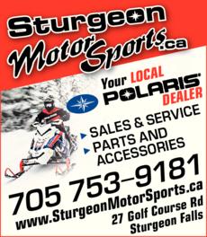 Print Ad of Sturgeon Motor Sports