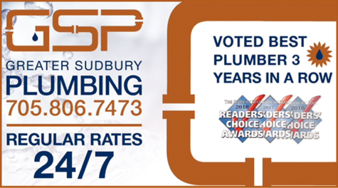 Print Ad of Greater Sudbury Plumbing Heating & A/C