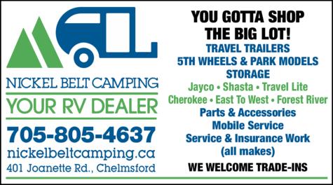 Print Ad of Nickel Belt Camping