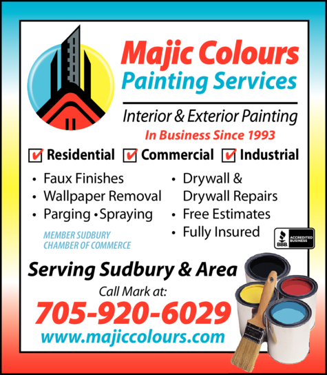 Print Ad of Majic Colours Painting Services