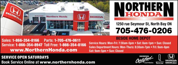 Print Ad of Northern Honda