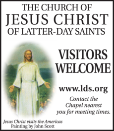 Yellow Pages Ad of Church Of Jesus Christ Of Latter-Day Saints The