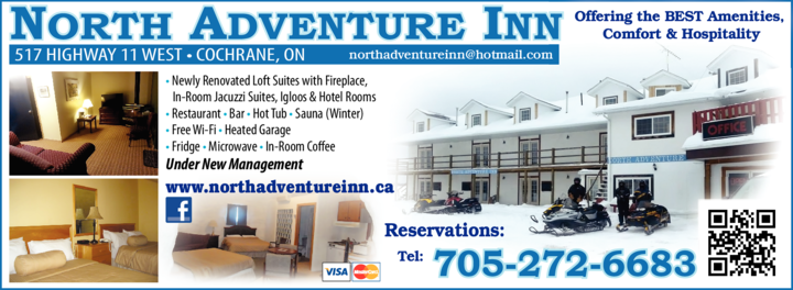 Print Ad of North Adventure Inn