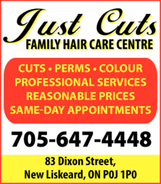 Print Ad of Just Cuts Family Hair Care Centre