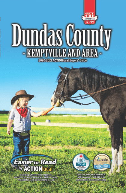 Dundas County Print Directory Cover