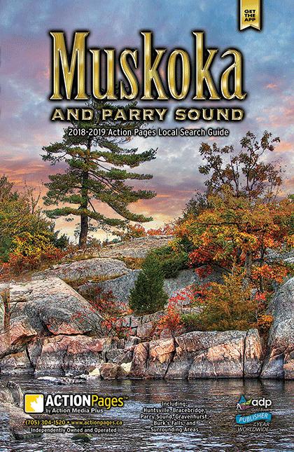 Muskoka Print Directory Cover