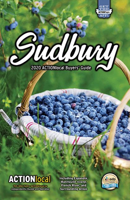 Sudbury Print Directory Cover
