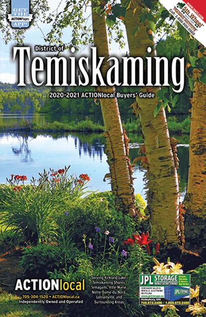 Timiskaming Print Directory Cover